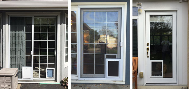 Doggy Door Installation Simple and Fast & Doggy Door Installation 408-866-0267 | A-1 On Track Serving the ...