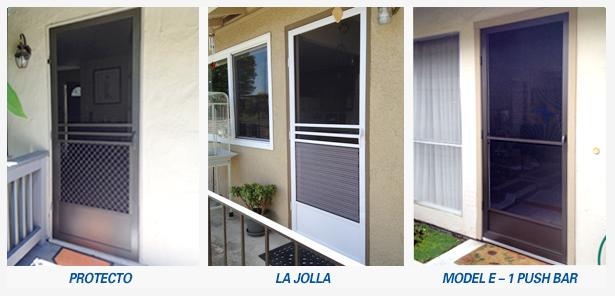 Swinging screed door replacement and repairs san jose, santa cruz areas