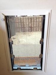 Install New Pet Doors - San Jose, Santa Cruz areas, CA