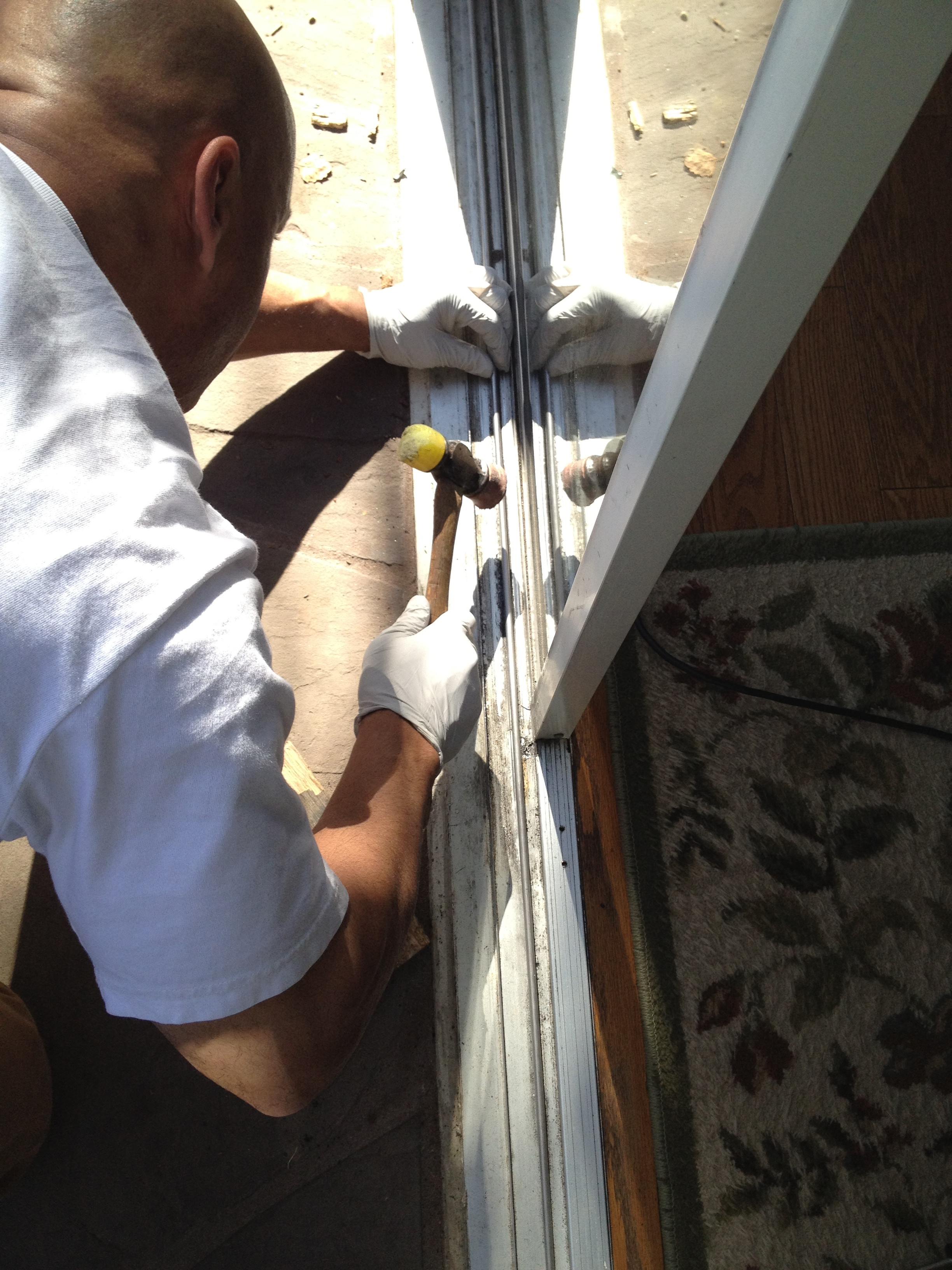 See Us In Action Sliding Gl Doors Leaking on