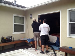New Sliding Glass Door Installation