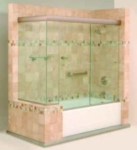 Sliding Tub Enclosure