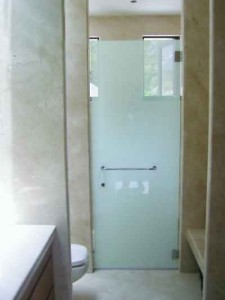 Hinged Shower Enclosure