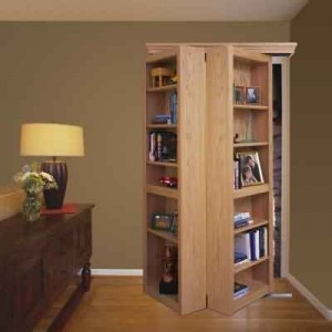 Bifolding Bookshelf