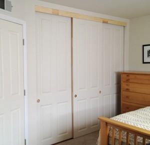 Cream Closet Door