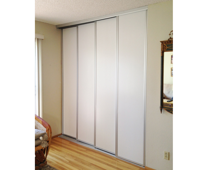 Closet door repairs and replacement san jose san for Exterior closet doors