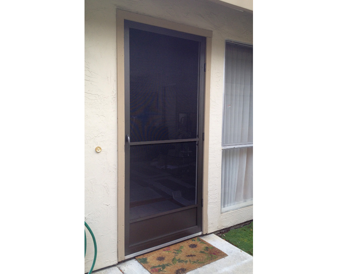 Screen door installation company san jose area 408 866 Screen door replacement