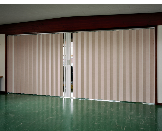 Accordion doors sales repairs replacement san jose for Commercial room dividers sliding