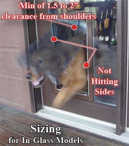 How to Size Your Pet Door
